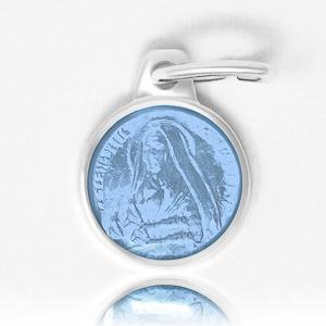 Light Blue Bernadette Pendant.