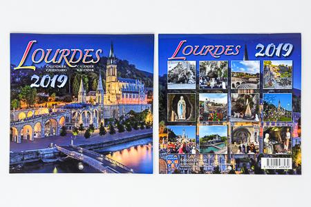 Desktop Lourdes 2018 Calendar.