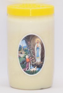Vigil Candle for 3 Days & 3 Nights.