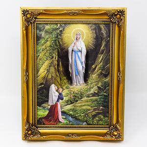 Lourdes Apparition Picture.