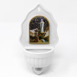 Lourdes Holy Water Font.
