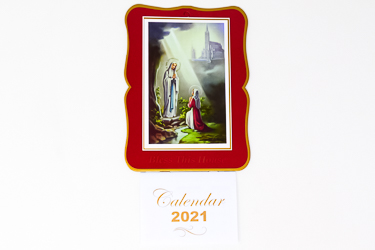 Lourdes Bless this House 2021 Calendar.