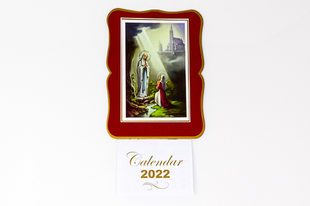 Lourdes Bless this House 2022 Calendar.