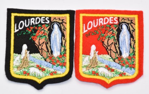 Lourdes Clothes Patch.