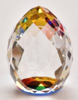 Apparition Crystal Paperweight.