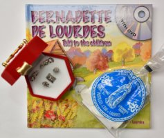 Lourdes DVD and Book Gift Set.