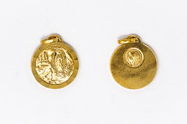 Lourdes Gold Medal.