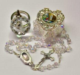 Lourdes Key Ring Gift Set.