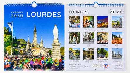 Lourdes Official Calendar 2020