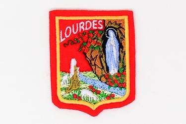Lourdes Clothes Patch.