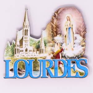 Lourdes Sanctuary Magnet.
