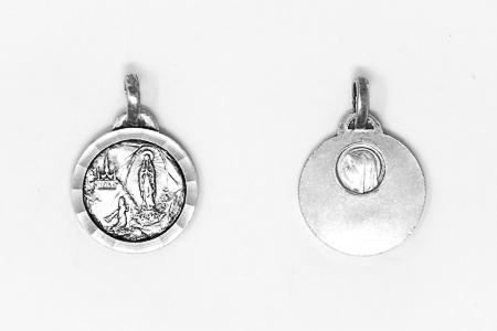 Silver Lourdes Medal.