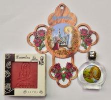 Lourdes Soap Gift Set.