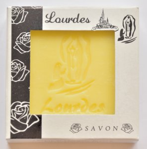 Lourdes Lemon Scented Soap.