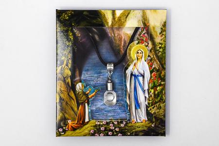 Lourdes Water Necklace.