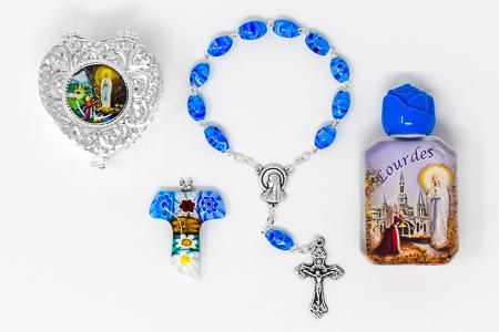 Murano Rosary Gift Set.
