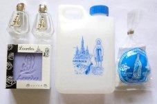 Lourdes Water & Lavender Soap Gift Set.