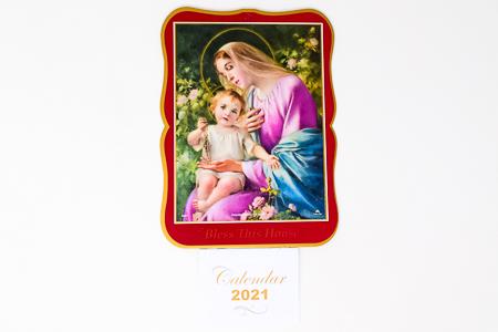 Madonna Bless this House 2021 Calendar.