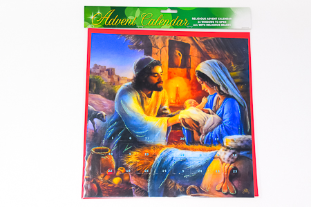 Mary & Joseph Advent Calendar.