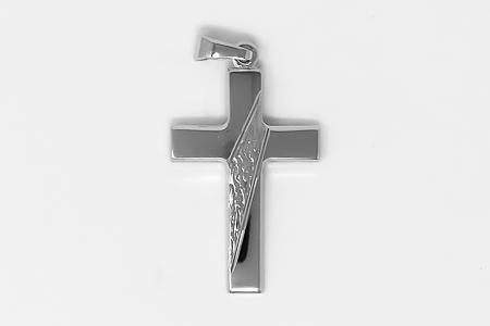 Men's 925 Silver Cross.