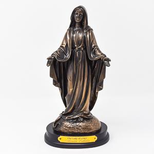 Miraculous Bronze Statue.