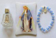 Miraculous Madonna & Lourdes Water Gift Set.