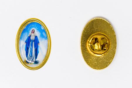 Miraculous Medal Pin.