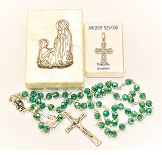 925 Sterling Silver Cross Gift Set.