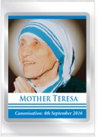 Mother Teresa Souvenirs Fridge Magnet.