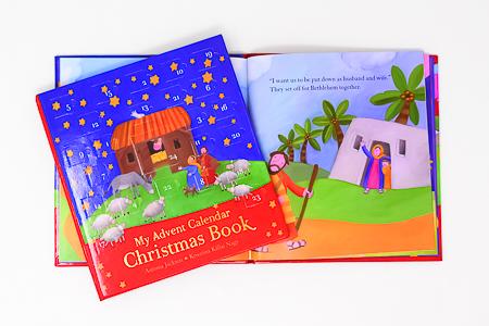 My Advent Calendar Christmas Book