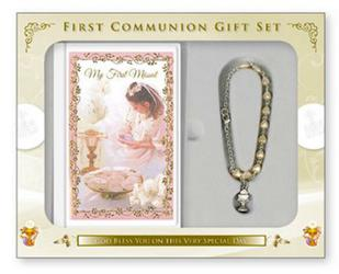 My First Communion Keepsake Gift Set