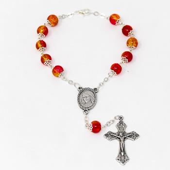 One Decade Car Rosary.