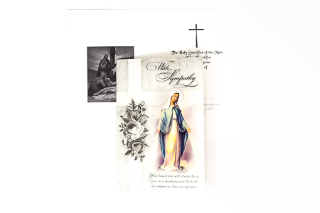 Our Lady of Grace - Sympathy Card.