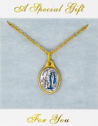 Oval Lourdes Necklace