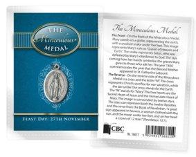 Miraculous Medal Medal.