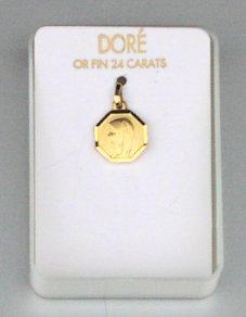 Virgin Mary Gold medal.