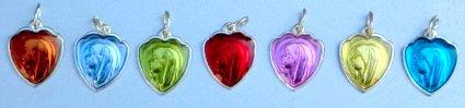 Heart Shaped Pendant.