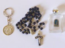 Men's Rosary Gift Set.