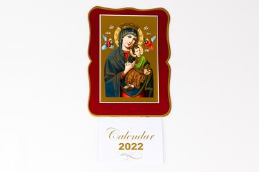 Perpetual Help Bless this House 2022 Calendar.