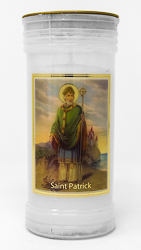 Pillar Candle - Saint Patrick.