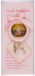 Pink Cradle Medallion