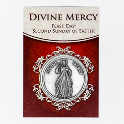 Pocket Token -  Divine Mercy.