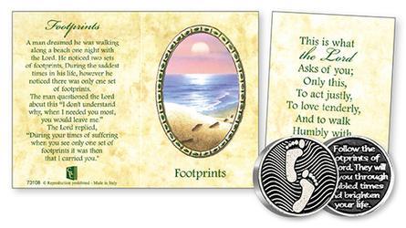 Pocket Token & Booklet - Footprints