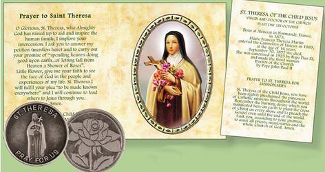 Pocket Token - Saint Theresa