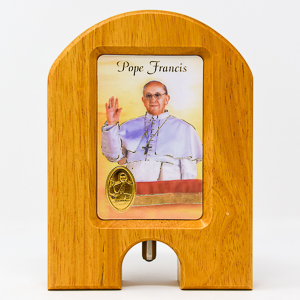 Pope Francis Holy Water Dispenser