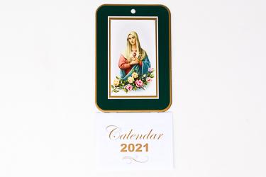 2021 Calendar Immaculate Heart of Mary.