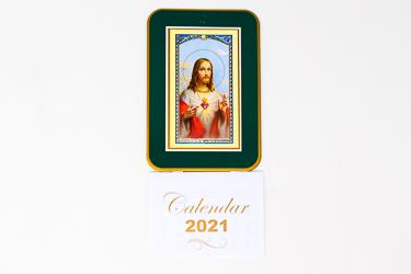 2021 Calendar Sacred Heart of Jesus.