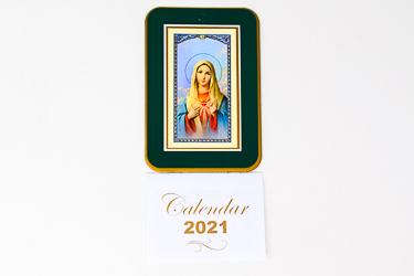 2021 Calendar Sacred Heart of Mary.