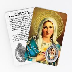 Prayer Card Sacred Heart of Jesus