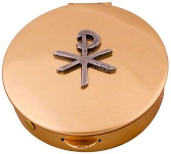 Bronze Pyx with PX Design.